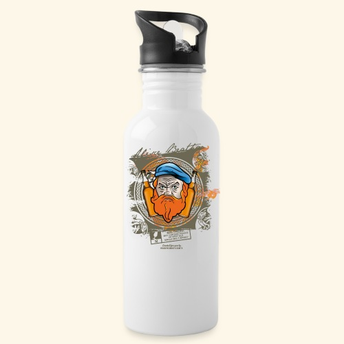 Malthead Whisky T Shirt - Trinkflasche