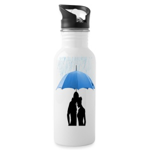 Love under the umbrella - Drinkfles