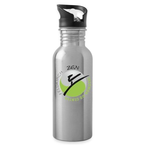 logo rund ohne weiss - Trinkflasche