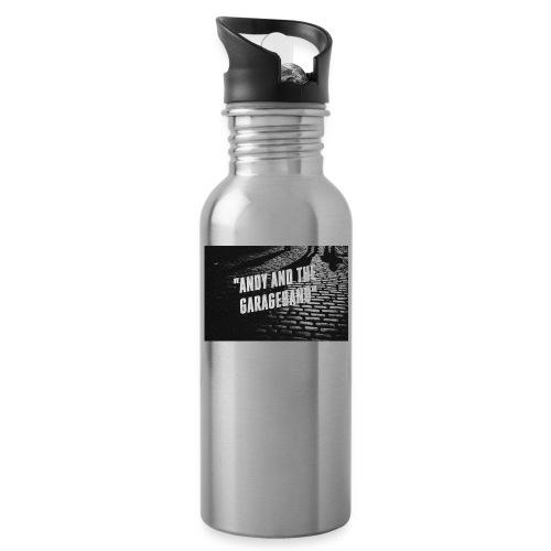 Black and White - Drikkeflaske