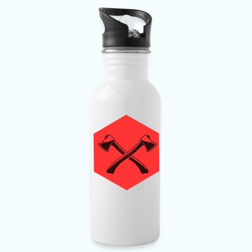 Hipster ax - Water Bottle