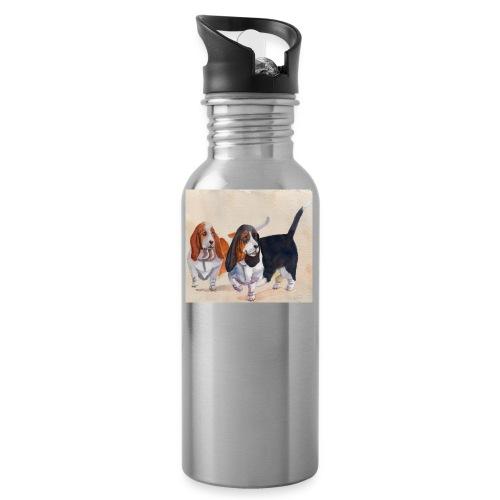 Basset hound_double-trot - Drikkeflaske