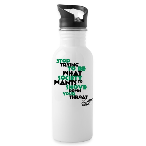 Stop with sig - Water Bottle
