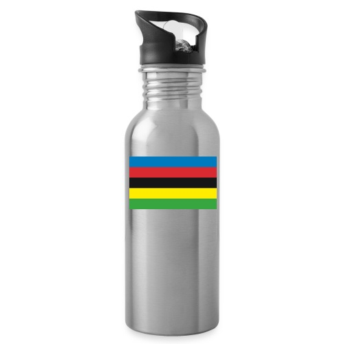 Cycling_World_Champion_Rainbow_Stripes-png - Drinkfles