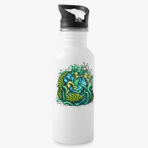 Gott des Meeres - Trinkflasche