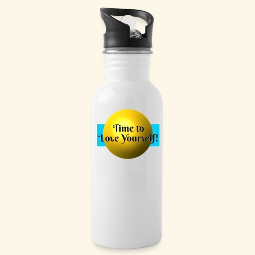 Time to Love Yourself - Trinkflasche