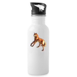 Fox of the night - Water Bottle