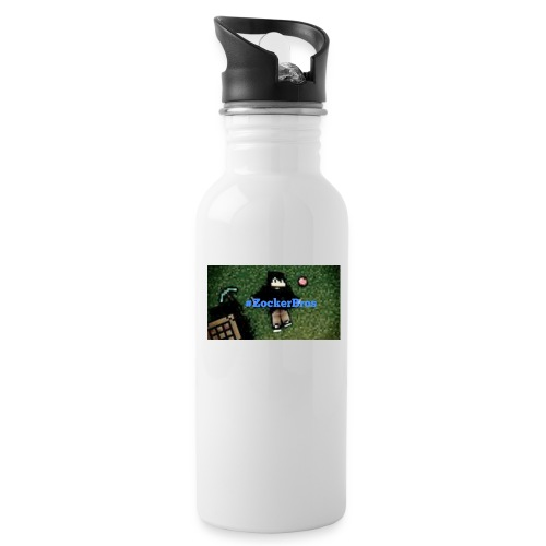 #Zockerbros t-shirt - Trinkflasche