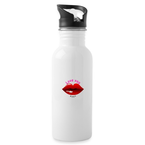 Love you - Trinkflasche