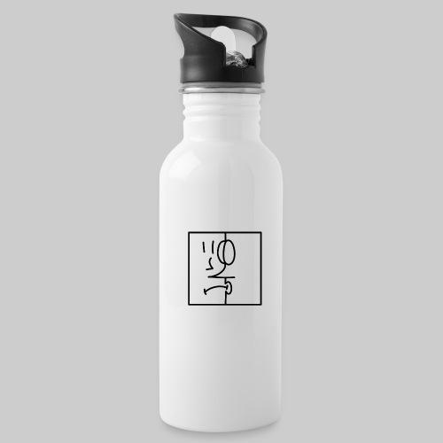 zwei Gesicht - Trinkflasche