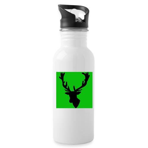 Hirch B GREEN UNIKAT - Trinkflasche