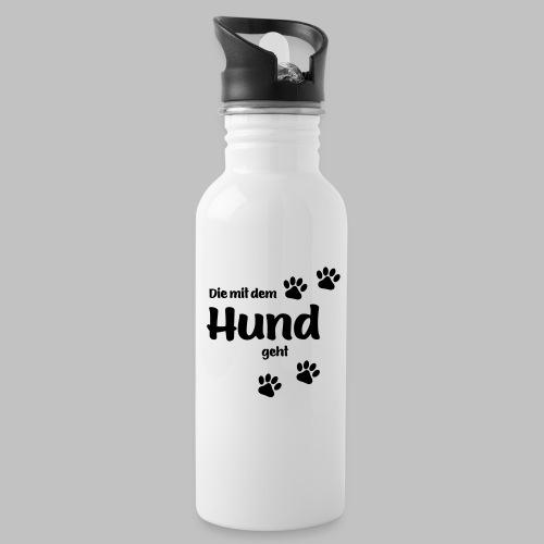 DIE MIT DEM HUND GEHT - Trinkflasche