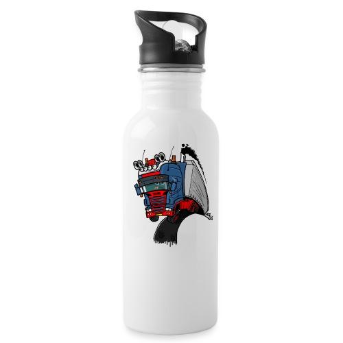 The flying skane man notext - Drinkfles
