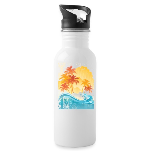 Palm Beach - Water Bottle