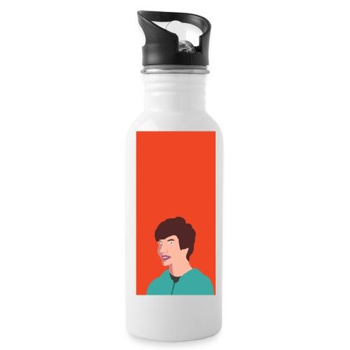Aron Deksel v.2 6/6S Plus - Drikkeflaske med integrert sugerør