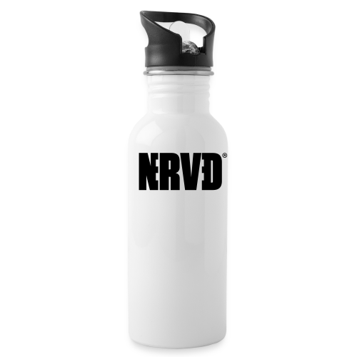 Official Nerved® Logo Black - Water Bottle