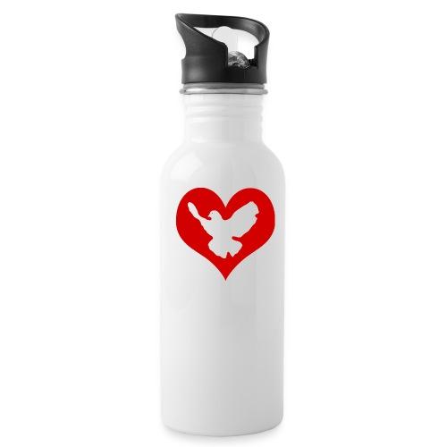 Peace & Love - Trinkflasche