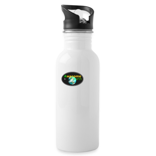 awesome earth - Water Bottle