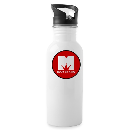 BodyByKing Red - Water Bottle