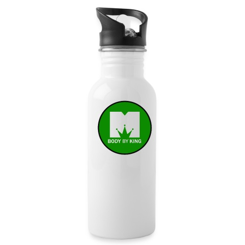 BodyByKing Green - Water Bottle