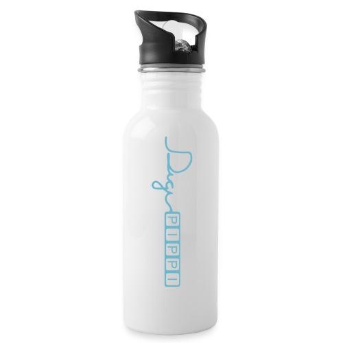 DP Logo Blue - Drikkeflaske