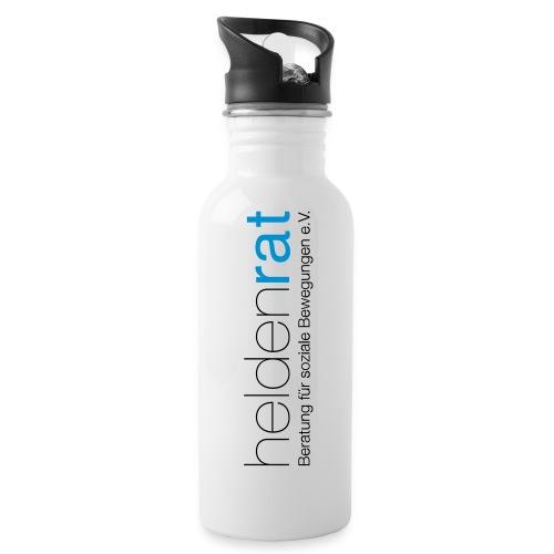 heldenrat_logo_rz - Trinkflasche