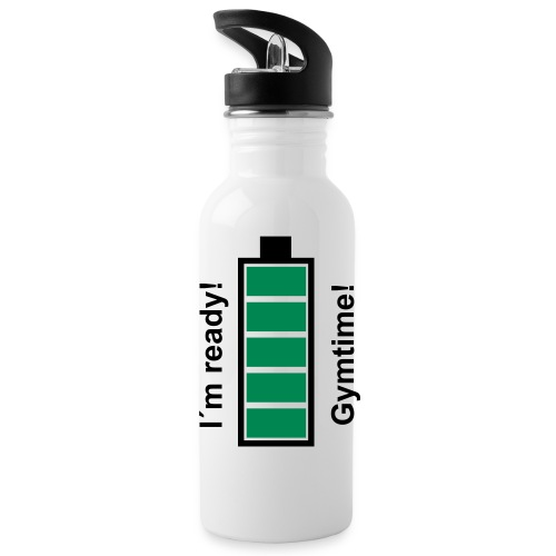 It´s Gymtime! - Trinkflasche