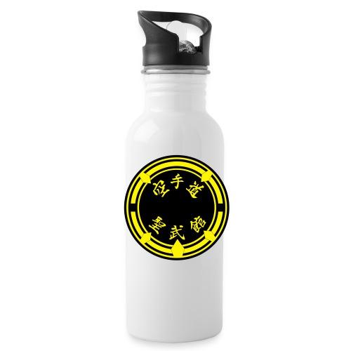 Abzeichen Seibukan - Trinkflasche mit integriertem Trinkhalm