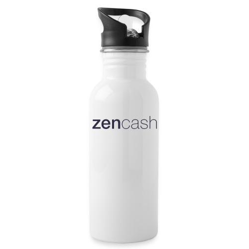 ZenCash CMYK_Horiz - Full - Water Bottle