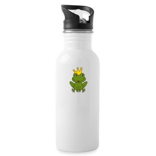 Froni mit Schriftzug Herzallerliebste (weiß) - Trinkflasche