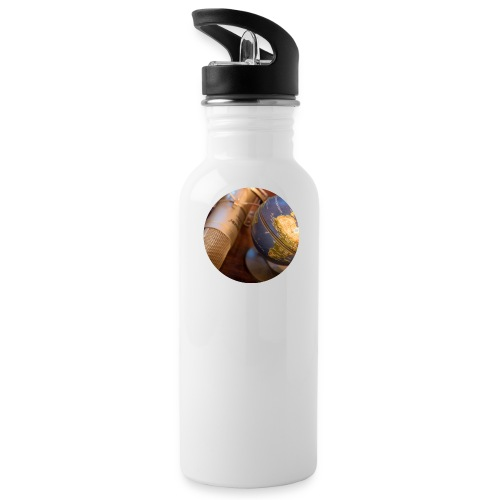 logo round png - Trinkflasche