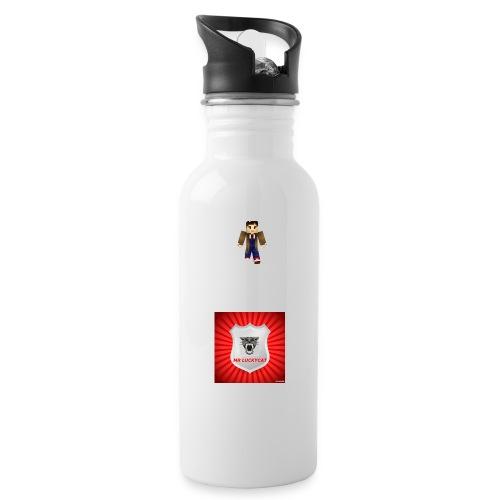 MR LUCKY CAT LOGO jpg - Water Bottle