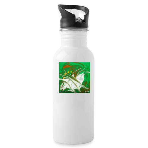 TIAN GREEN Mosaik CG002 - quaKI - Trinkflasche