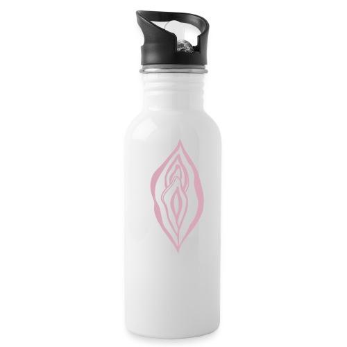 Wild Yoni Sacred Goddess Magic Girl Power Feminist - Water Bottle