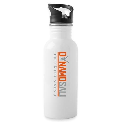 DynamoSALI_logo - Juomapullo, jossa pilli