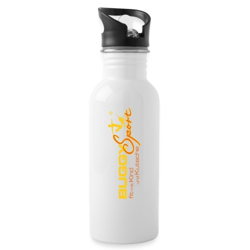 20130920 Logo mit R png - Trinkflasche mit integriertem Trinkhalm