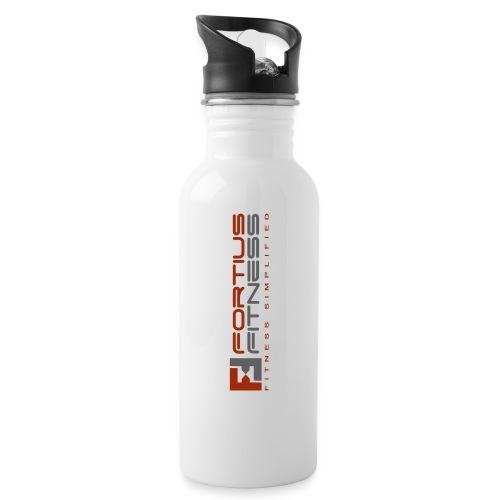 Fortius Fitness - Drikkeflaske med integreret sugerør