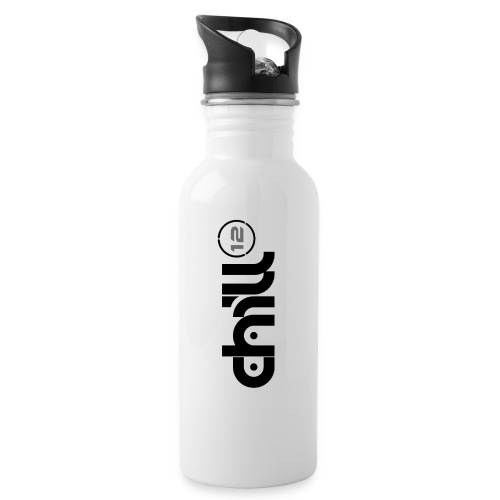 12 Wordmark 12 Number Ring Black png - Water bottle with straw