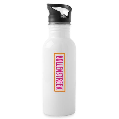 Bollenstreek - Drinkfles met geïntegreerd rietje