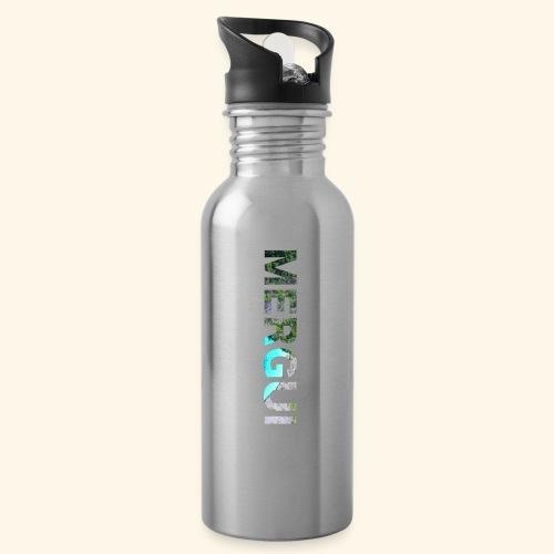 MERGUI - Water bottle with straw