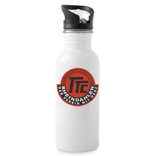 TTC Logo Finale png - Trinkflasche mit integriertem Trinkhalm