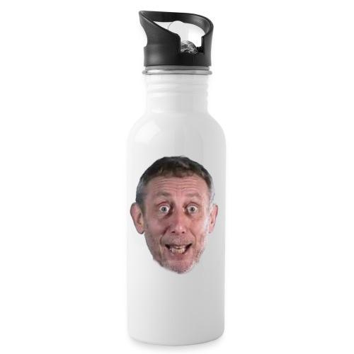 Michael Rosen Shirt! - Water bottle with straw