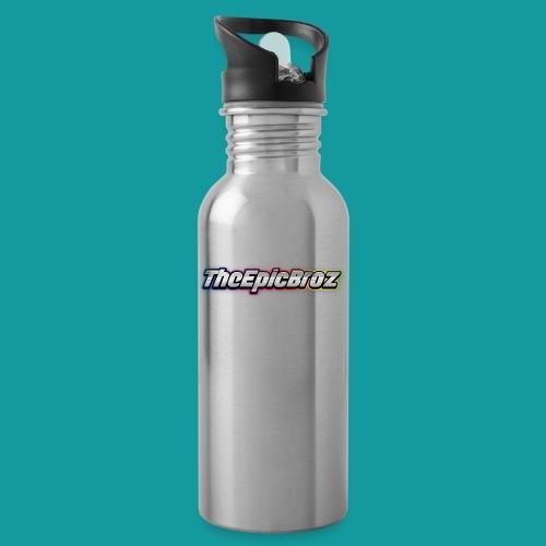 TheEpicBroz - Drinkfles met geïntegreerd rietje
