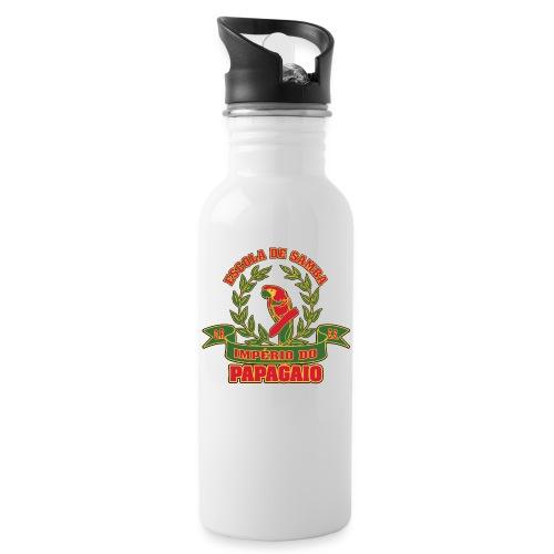 Papagaio logo - Juomapullo, jossa pilli