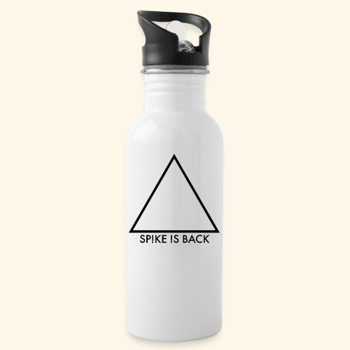 Official Logo - Water bottle with straw