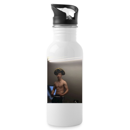 El Padre - Water bottle with straw