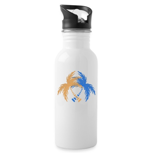 264 logo - Water bottle with straw