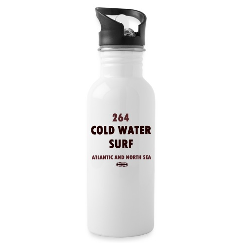 COLD WATER SURF - Water bottle with straw