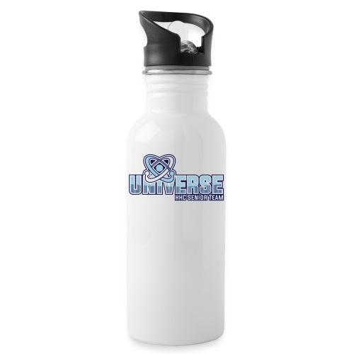 HHC Senior Team - Trinkflasche mit integriertem Trinkhalm