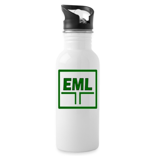 Essexcare logo - Water bottle with straw
